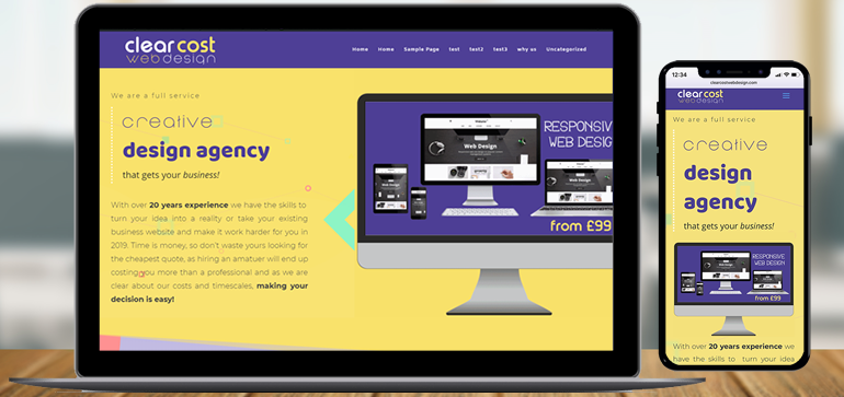 Clear Cost Web Design, Highly Effective Responsive Web